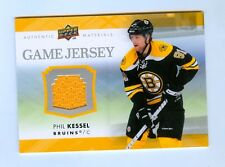 PHIL KESSEL 2007-08 UPPER DECK GAME JERSEY BRUINS