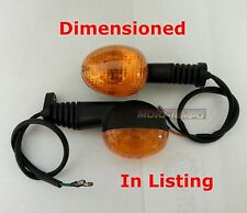 PAIR (2)  FLEXI STEM ENDURO MOTORBIKE INDICATORS  KTM CCM OEM Type M5 fit