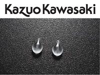New Kazuo Kawasaki Nose Pads Silicone Plug-In Tear Shaped New Replacement