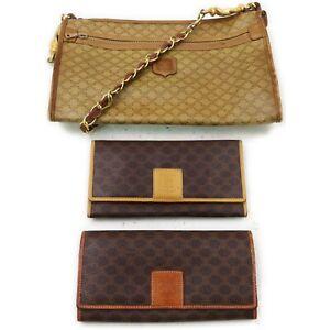 Celine PVC Shoulder Bag Wallet 3 pieces set 519483