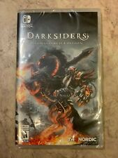 Darksiders: Warmastered Edition - Nintendo Switch Black Spine Misprint
