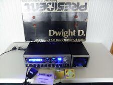 Custom President Dwight D. CB Radio Base Station Speaker & Box Frequency Counter