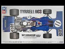 Tamiya 1/12 TYRRELL FORD F1 1971 Monaco Version Stewart Race Car Kit 12054 MIB