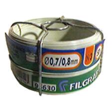 Fil d'attache Filgraf - Plastifié Blanc - 50 m - Ø 0.8 mm