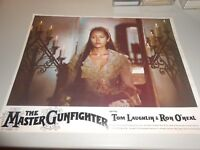 Set of Eight Original Lobby Cards from the 1975 Movie The Master Gunfighter