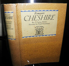 ** Romantic Cheshire J Cunning Walters Illustrated, 1931, vintage collectible