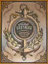 2013 Avett Brothers - Forecastle Concert Poster by Status Serigraph S/N