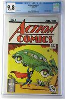 Action Comics #1 CGC 9.8 (My Rare CGC Graded Comics NR Auctions Begin 9-24-20)