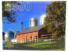 """Golden Guild 500 Piece """"The Granary"""" Jigsaw Puzzle (NEW & Sealed)"""