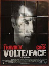 Affiche VOLTE FACE Face Off JOHN TRAVOLTA Nicolas Cage JOHN WOO 120x160cm *D