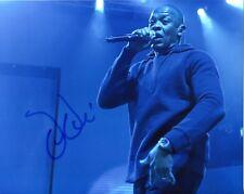 Dr Dre SIGNED AUTOGRAPH NWA West Coast Rap Rap Hip Hop AFTAL UACC RD