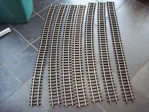 7 ARISTOCRAFT G SCALE MODEL RAILWAY FLEXIBLE BRASS 1200mm TRACK STRAIGHTS