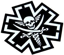 High Quality Vinyl Sticker - Milspec Monkey- Decal - TACMED SPARTAN - SWAT Black
