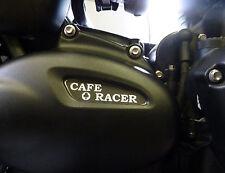 Triumph Bonneville t120 déposants Pour Pignon Cover alu fraisée Cafe Racer