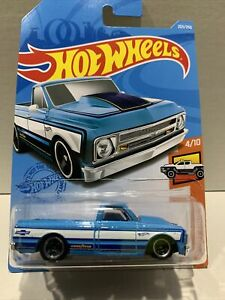 Hot Wheels '67 Chevy C10 Blue 2021 New Release L Box SEALED VHTF