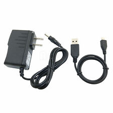 AC/DC Power Adapter Charger + USB Cord for Curtis Klu Tablet LT7035-D LT7035D