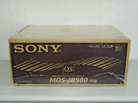 Sony MDS-JB980 High-End MiniDisc Recorder Schwarz, OVP&NEU, 2 Jahre Garantie