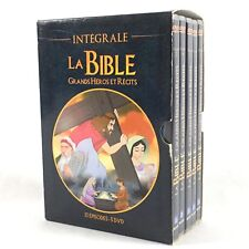 La Bible, Grands Héros et Récits Coffret 5 DVD L'intégrale