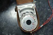 Vintage HANIMEX SEKONIC LIGHT METER in Leather Case
