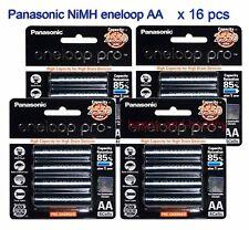 16 pcs Panasonic eneloop pro AA NiMH 2550mAh  BK-3HCCE-4BT Free tracking