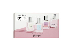 philosophy Living Love Grace Fragrance 4Pcs gift SET Fresh, Joyously & Loveswept