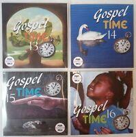 'Gospel Time' Vol 13-16 JUMBO 4CD New /Classic Reggae Gospel, Vocal, Ska, Soca