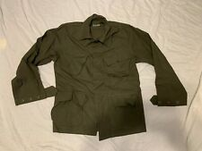 NEW OLD STOCK CLASS I WIND RESISTANT POPLIN RIPSTOP OG 107  SMALL REGULAR JACKET