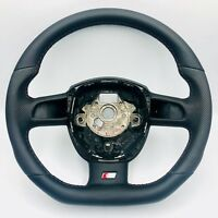 Mise au Point S-LINE Aplati Volant Cuir Noir Audi A4 A3 A5 A6 8E0 8K0