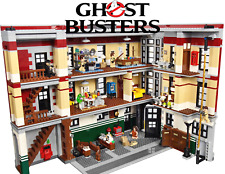 Ghostbusters Firehouse Headquarters 75827 Kid Toy 4705 Blocks Christmas Gift Set