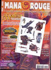 MAGAZINE MANA ROUGE N° 26 DECEMBRE 2007 SOUS EMBALLAGE D'ORIGINE