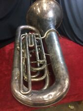 Repairman Special Besson 700 series Tuba, missing 2 valves(1&4) good condition!