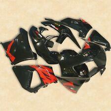Black Plastic Fairing Bodywork Set For Honda CBR900RR 919 1998-1999 Hand Made