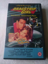 Dragstrip Girl Big Box VHS Video Tape Cassette Ex Rental