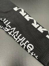 New listing 🔥 Nike off-white off white socks - SHIPS FROM US - Black / White 🔥