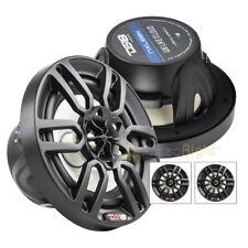 "6.5"" 2 Way Marine Speaker System RGB LED Light 300 Watts Max 2 Pack DS18 NXL6BK"