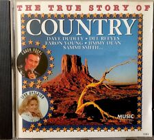 Various Artists - The True Story Of Country (CD 1995) Reeves/Young/Dudley/Russel