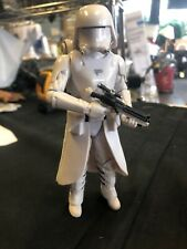 White Storm Clone Trooper w/ Robe Backpack w/ Cape w/ gun stormtrooper star wars