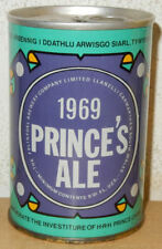 1969 PRINCE'S ALE Straight Steel Beer can From ENGLAND (27.5cl)