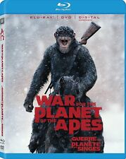 War for the Planet of the Apes (Blu-ray, 2017, 1-Disc Set, Includes Digital