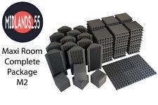 Maxi Pro Acoustic Foam Studio Kit M2 120xFP300 12xBT600 4xC200 10xAdhesive