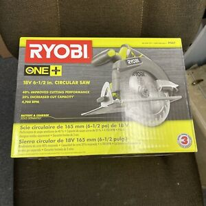BRAND NEW  RYOBI P507 18-Volt ONE+ Cordless 6-1/2 in. Circular Saw (Tool Only)