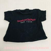 American Girl Place Chicago black shirt NWOB