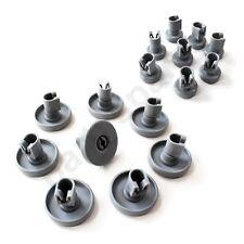 for Electrolux Dishwasher Basket Wheels FULL SET Top Bottom Upper Lower 40 25 mm