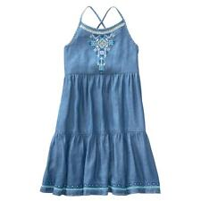 NWT Gymboree True Blue Summer Tiered Chambray Dress Girls kid and Toddler sizes