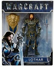 Warcraft Movie Action Figure LOTHAR 6-inch Jakks NEW IN BOX 2016 World of