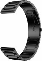 LDFAS Titanium Band Compatible for 22mm Galaxy Watch 46mm/Gear S3, Black