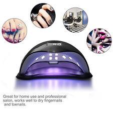 48w Lámpara de Uñas Detección Automática LED UV Secador Gel Cura Manicura Arte