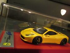 FERRARI 458 ITALIA COUPE 2009 GIALLO TRISTRATO BBR 1/43 BBRC22BSB N°05/20 DELUXE