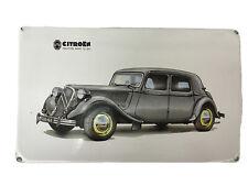 Citroen Avant 15- Six Metal Plaque