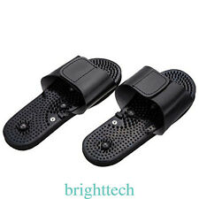 Acupressure Massage Slipper Shoes Electrical Stimulator Foot Massager 1 Pair